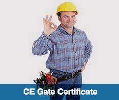 Ce Gate Certificate