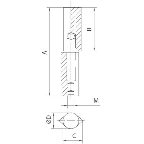 door hinges regulating drop hinge