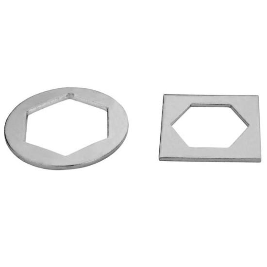 Industrial Doors Hexagonal Plate