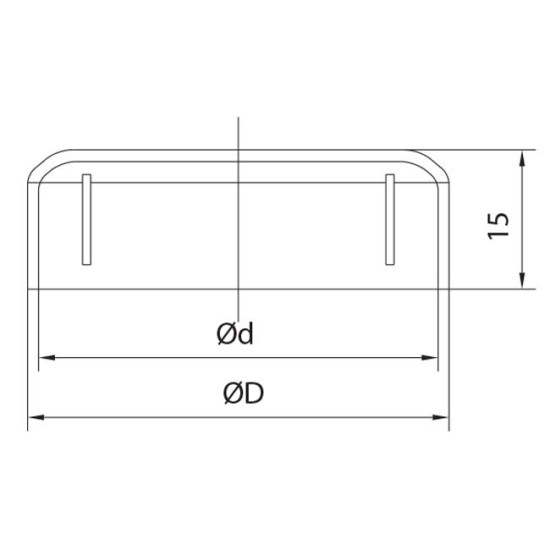 metal fence post cap