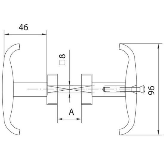 oeverhead door handle