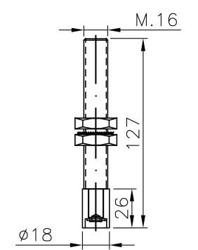 bottom guide for nylon sliding door