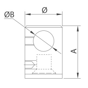 midrail flat tube stainless steel handrail