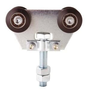 Sliding Gate Hardware Double Nylon Trolley Short U40