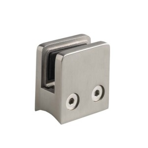 Stainless Steel Glass Clamp Squared