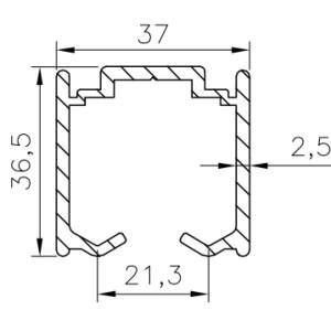 Aluminium Sliding Door Track