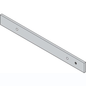 barn door track zinc coated