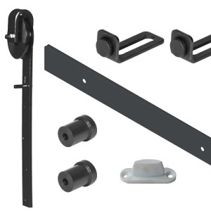 Sliding Barn Door Kit Black