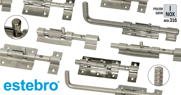 Estebro Stainlees Steel Bolts